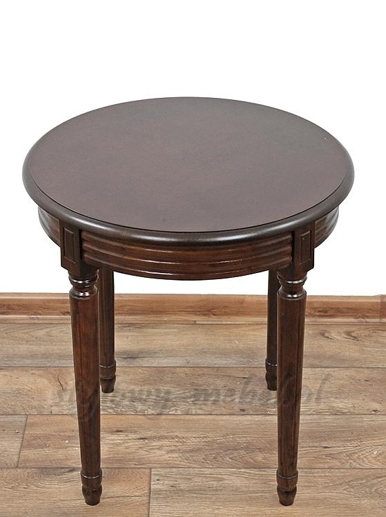 Wyjątkowy Stylowy Drewniany Stolik Kawowy 119211D #CV-34
