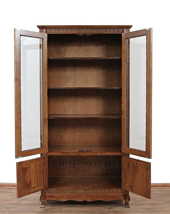 Stylowa Drewniana Witryna Z Kolekcji Classic 151084