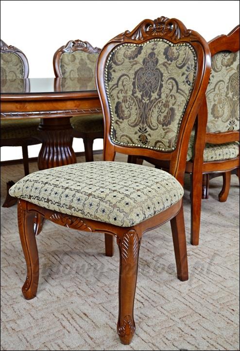 Stół Rozkładany 8 Krzeseł 65412 65414
